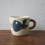陶器の鳥のCUP
